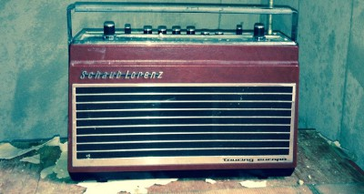 old radio transistor