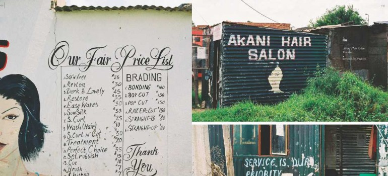 South African Township Barbershops & Salons