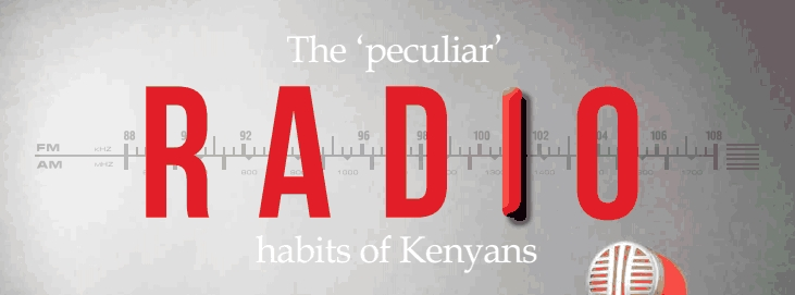 Radio in Kenya graphic from The Africa Annual