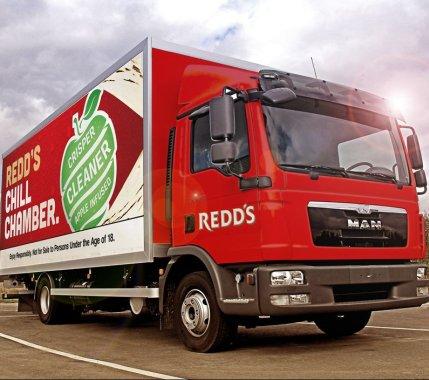 Redd's truck