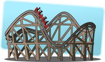 rollercoaster courtesy of Pixabay