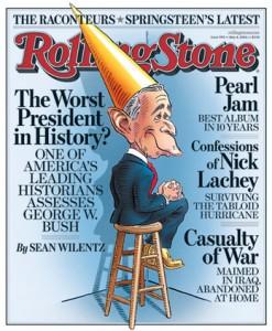 Bush Rolling Stone