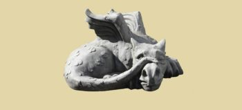sculpture-dragon-lindwurm-stone courtesy of Pixabay