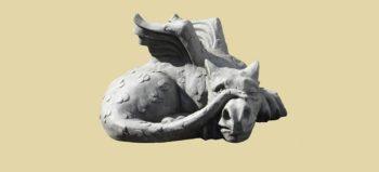 sculpture-dragon-lindwurm-stone courtesy of Pixabay