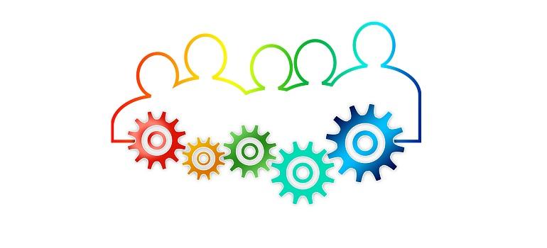 teamwork-team-gear-gears-drive courtesy of Pixabay