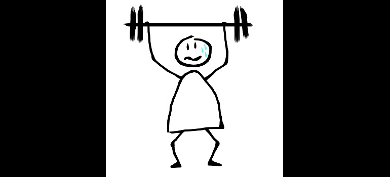weightlifting-fatigue-sweat-gym courtesy of Pixabay