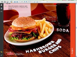 Wimpy 'vegetarian option'