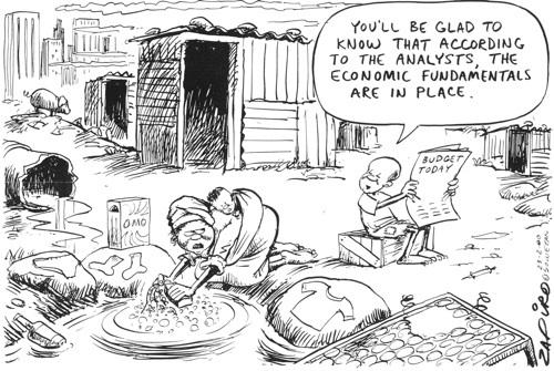 Zapiro cartoon - Copyright zapiro.com
