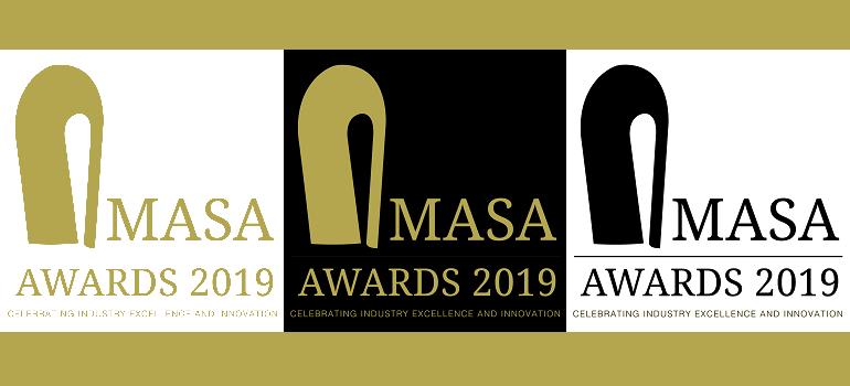 2019 AMASA Awards logo