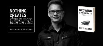 Growing Greatness: Nothing Creates Change More Than an Idea landscape