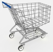 3D shopping cart by David Castillo Dominici at FreeDigitalPhotos.net