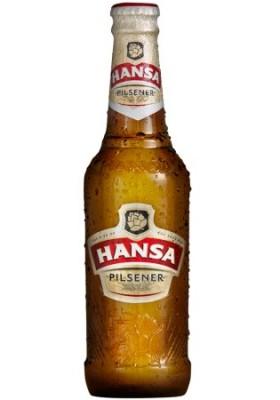 Hansa Pilsener bottle from 2014.