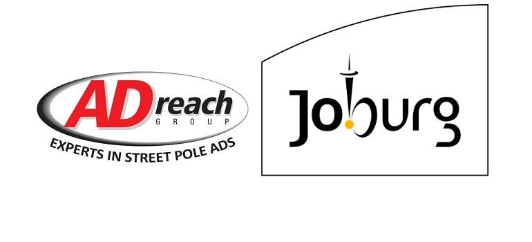 ADreach logo and City of Joburg logo