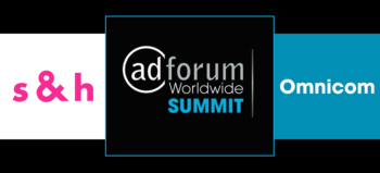 AdForum Worldwide Summit 2020 Sparks & Honey logo, AdForum Summit logo and Omnicom Group logo