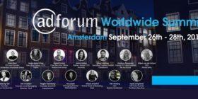 AdForum Worldwide Summit Amsterdam 2018