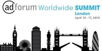 AdForum Worldwide Summit London 2015 logo
