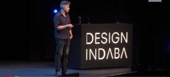 Alejandro Aravena presenting at Design Indaba 2018 - YouTube screengrab