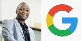 Alistair Mokoena and Google logo