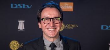 Andrew Human at the 2017 Loeries. (Photo by Roy Esterhuysen/2017 Loerie Awards)