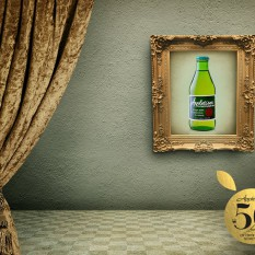 Appletiser SA Facebook 50th anniversary frame