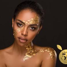 Appletiser SA Facebook 50th anniversary gold body paint