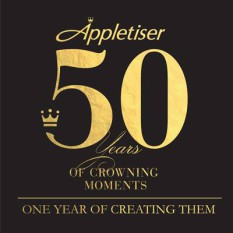 Appletiser SA logo Facebook 50th anniversary