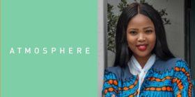 Atmosphere Communications logo and Bukelwa Monqo