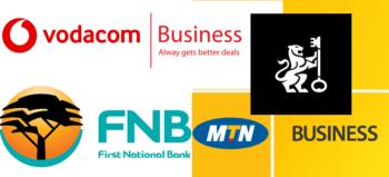 B2B and B2C logos