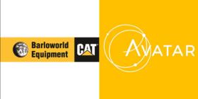 Barloworld Equipment with Caterpillar logo and Avatar logo
