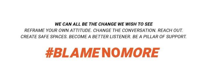#BlameNoMore creative elements 13
