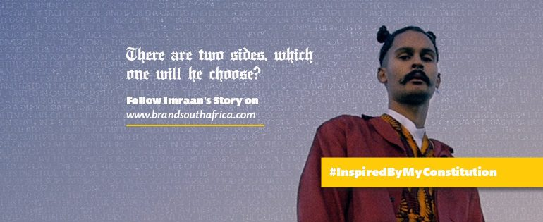 Brand South Africa Facebook cover image with Imraan Christian