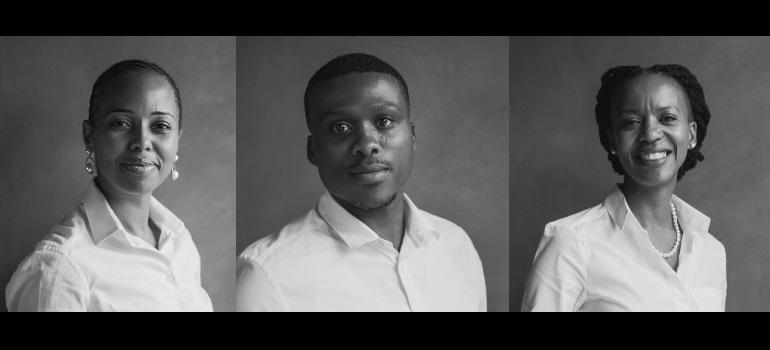 Brave Group: Lebo Masilela, Thibedi Meso and Tumi Rabanye