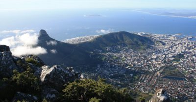 Cape Town South Africa mountain courtesy of Pixabay
