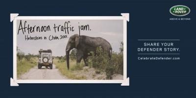 #CelebrateDefender afternoon traffic jam
