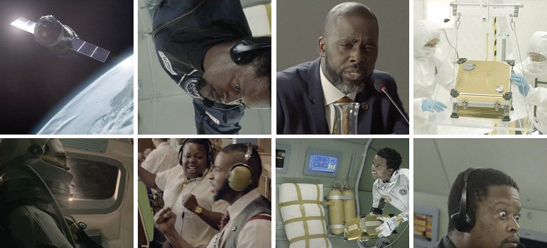 Chicken Licken Afronaut stills