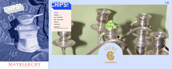 Chips Issue 6, print and online, August 2018