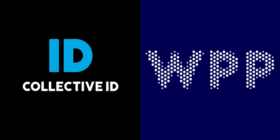Collective ID logo and WPP logo