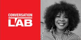Conversation Lab logo and Uyanda Manana
