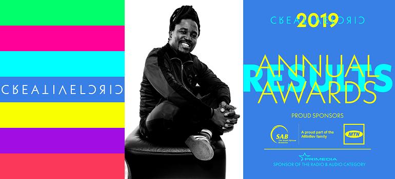 Creative Circle annual awards 2019 with Neo Mashigo