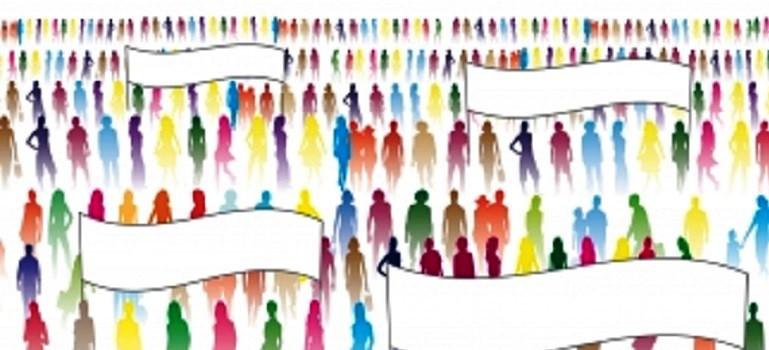Crowd of People by xedos4 courtesy of FreeDigitalPhotos.net (cropped)