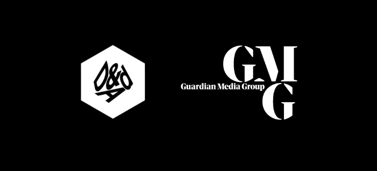 D&AD logo and Guardian Media Group logo