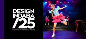 Design Indaba 25 logo and Sho Madjozi