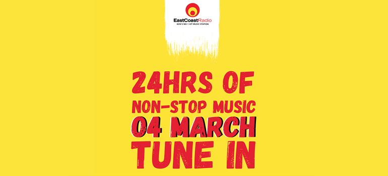 East Coast Radio 24hrs of non-stop music