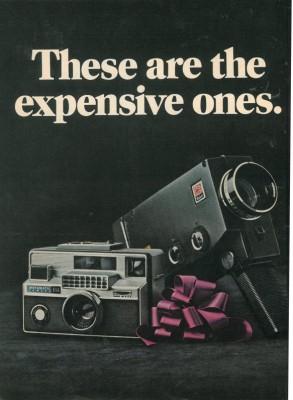 Kodak ad page 1, Esquire US, December 1967