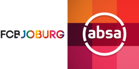 FCB Joburg logo and Absa logo
