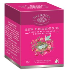 Five Roses Infusions New Beginnings carton