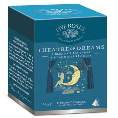 Five Roses Infusions Theatre of Dreams carton
