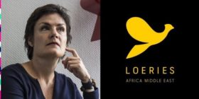 Fran Luckin and Loeries logo with 2020 elements