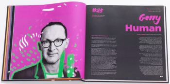 Gerry Human DPS within Creative Director book slider