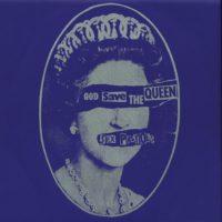 God Save the Queen album cover Sex Pistols